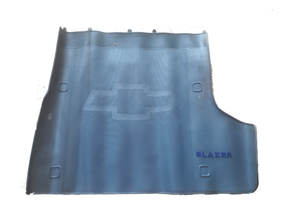 Tapete Porta Malas Traseiro Blazer 97/...original Cor Cinza