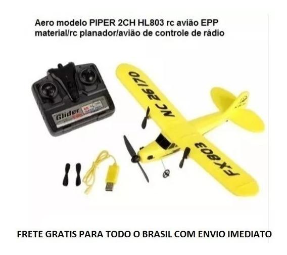 Piper Rc Fx803 Aeromodelo Planador 100% Original.