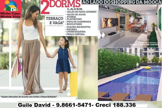 Aptos 2 Dorms-varanda-m.casa M.vida-shop Mooca