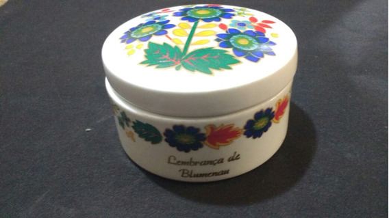 Porta Jóia Porcelana Schimidt,lembrança De Blumenau