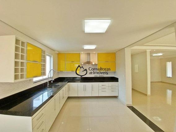 Casa Com 4 Dormitórios À Venda, 368 M² Por R$ 1.380.000 - Jardim Golden Park Residence - Hortolândia/sp - Ca0784