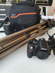 Kit Camera Profissional - Nikon D5100 - Lente 18-150mm Tripé