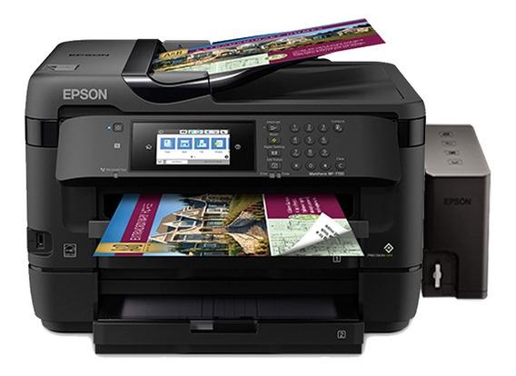 Impresora Epson A3 Wf7720 Sistema Wifi Duplex Adf 3 Bandejas