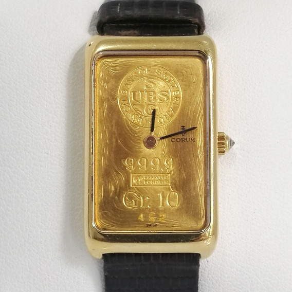 Reloj Caballero Corum Ingont 10grs. Original