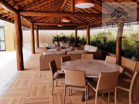 Apartamento Para Locação Em Salvador, Jardim Apipema, 2 Dormitórios, 1 Suíte, 3 Banheiros, 2 Vagas - 758