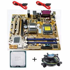 Kit Placa Mae Ipm41-d3 775 Ddr3 + Core 2 Duo