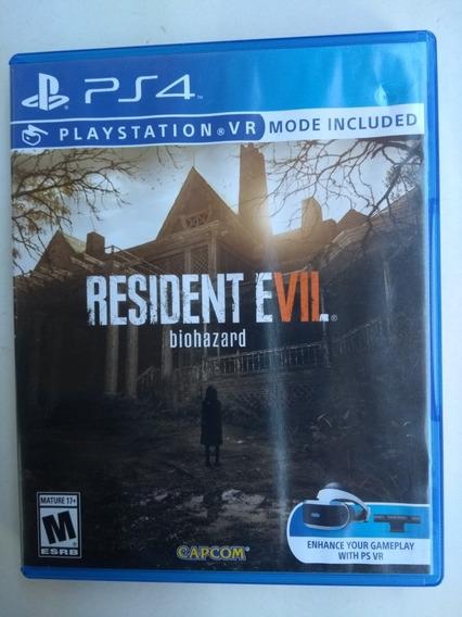 Resident Evil 7 Ps4 Midia Física Original