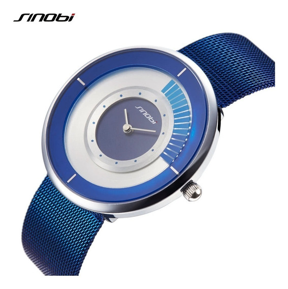Reloj Sinobi 3atm Azul