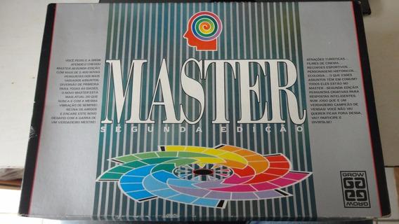 Jogo Master Segunda Edição Da Grow Completo