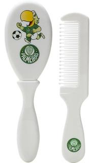 Kit Cabelo Escova E Pente Palmeiras Lolly 7054-01-pal