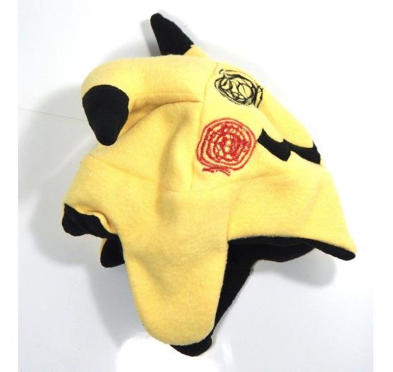 Gorro Frio Pokemon Mimikyu Pikachu Ash Ketchum Sol Y Luna