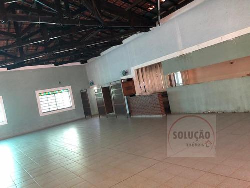 Salão Comercial A Venda No Bairro Jardim Santa Rita Em - 818-1