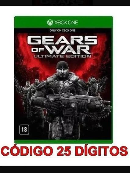 Gears Of War Ultimate Edition Xbox One Código De 25 Dígitos