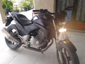 Honda Cb300 Roxa Linda!!!