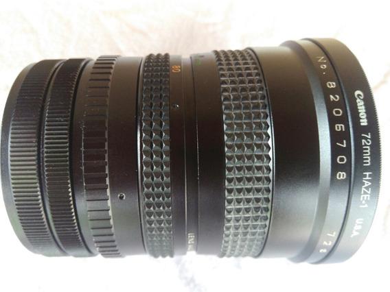 Lente Canon F=28-80mm Sakar Mc Haze 1 72mm Bom Estado