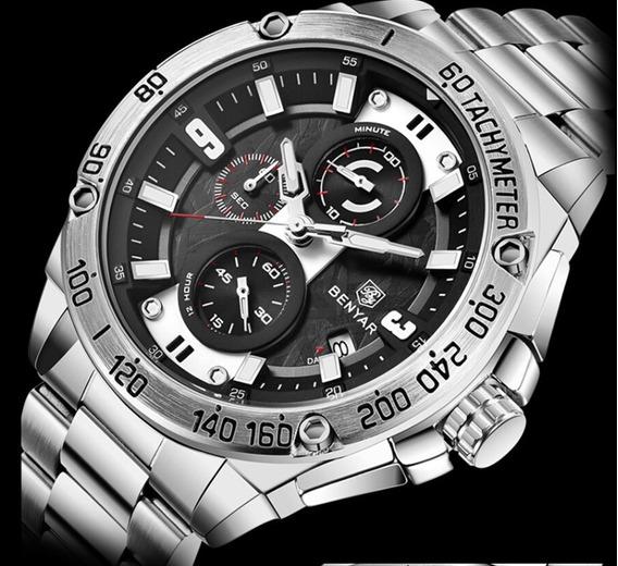 Relógio - Benyar - 5148 - Original - Em Estoque