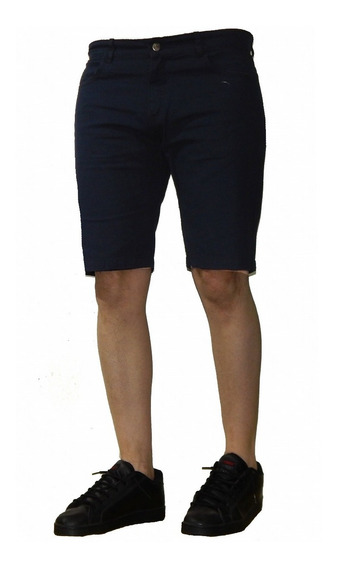 Bermuda Shorts Gabardina Colores Talles: 40 Al 56 Jeans710