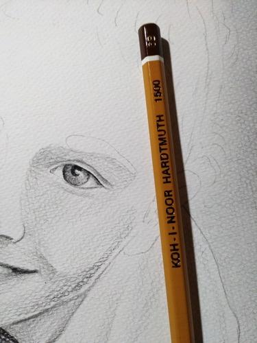 Desenho Retrato Realista
