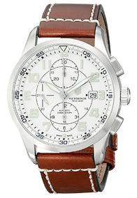 Relógio Masculino Victorinox Automatico Air Marrom Valjoux