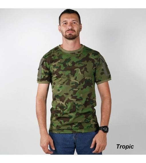 Conjunto Camiseta Ranger + Calça Airsoft Paintball Tropic