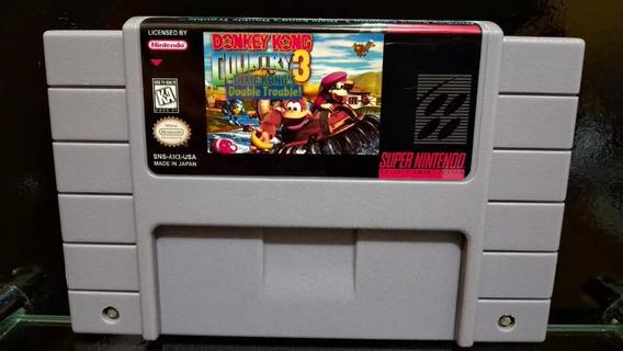 Fita / Cartucho Donkey Kong Country 3 Super Nintendo Salvand
