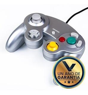 Control Alambrico Plata Nintendo Gamecube :: Virtual Zone