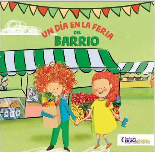 Imagen 1 de 3 de Libro Un Día En La Feria Del Barrio