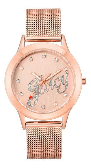 Reloj Juicy Couture Acero Correa Oro Rosado Dc