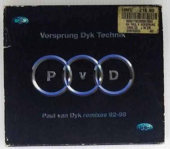 Box Cd Paul Van Dyk Remixes 92-98 - Seminovo