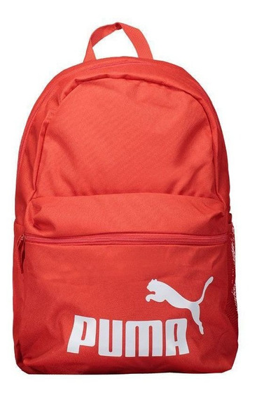 Mochila Puma Phase Logo Vermelha