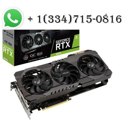 Imagen 1 de 1 de Asus Tuf Gaming Geforce Rtx 3070 Oc Graphics Card