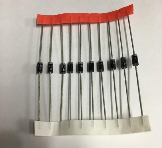 Diodo Retificador 1n4007 In4007 (10 Unidades )
