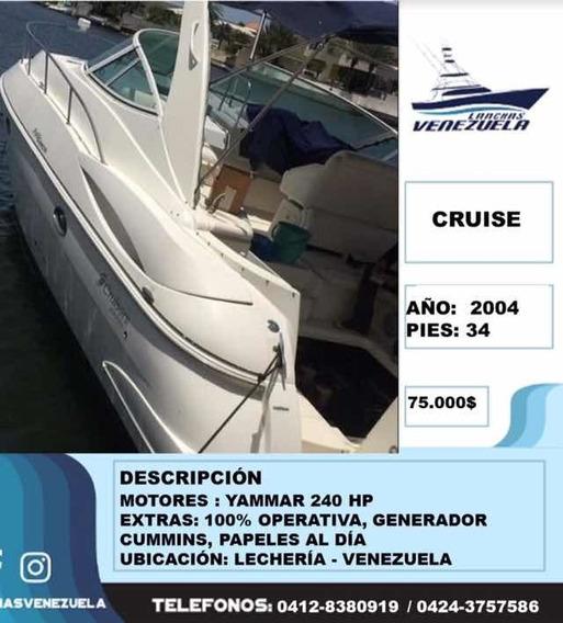 Lancha Cruiser 34 Lv61
