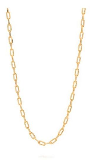Kit 2 Corrente Rommanel Banhado Ouro 18 Fio Longo Diamantado