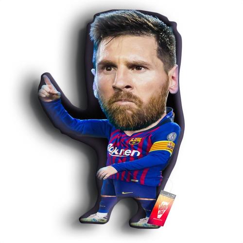Cojín Peluche Lionel Messi Chiquito 40cm Vudú Love