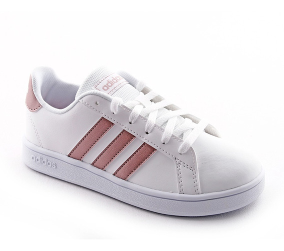 Zapatilla Urbana Grand Court K Bl/co/rs adidas Niña
