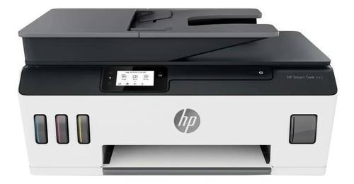 Imagen 1 de 4 de Impresora a color multifunción HP Smart Tank 533 con wifi blanca y negra 100V/240V