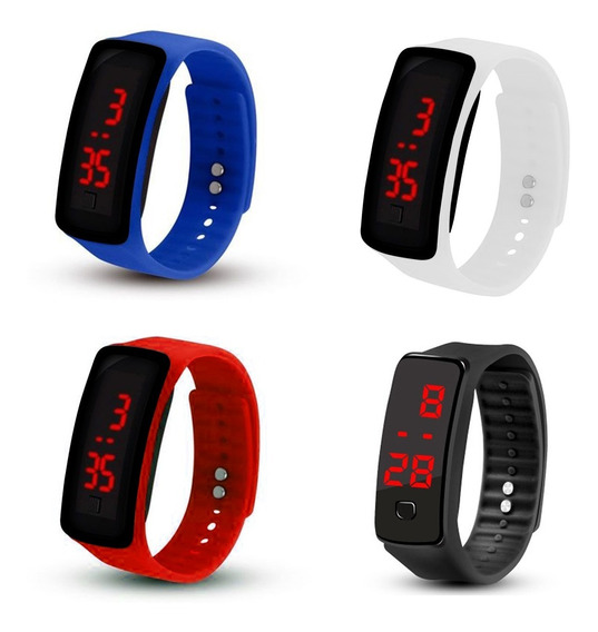 Pack 50 Reloj Led Silicona Deportivo Unsx Sport / Lhua Store