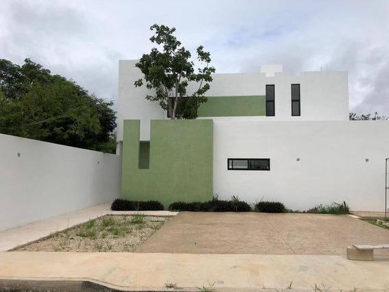 Preventa Hermosa Casa Nueva Al Norte De Mérida