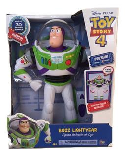 Toy Story 4 Buzz Lightyear 30 Sonidos 30 Cm Figura De Lujo