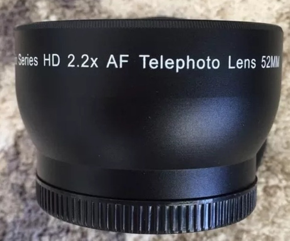Lente Ultimaxx Studio Hd 2.2x Af Teplephoto 52mm Japan