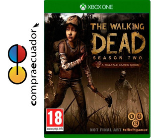 The Walking Dead Season 2 Xbox One En Disco Nuevos Sellados