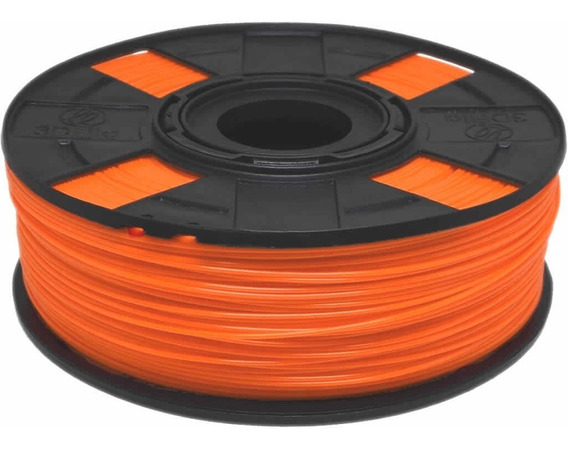 Filamento Pla Laranja Basic 1,75 Mm 500g 3d 3dfila