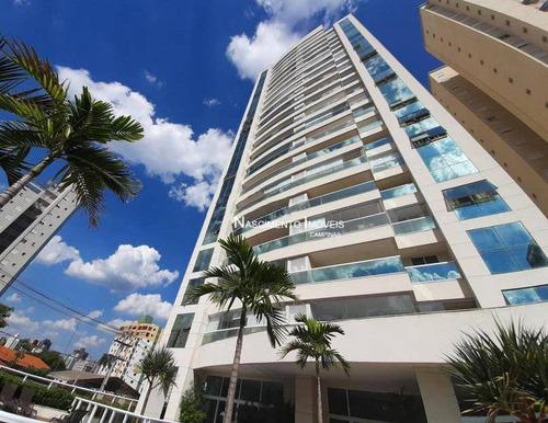 Apartamento Novo Com 3 Dormitórios À Venda Por R$ 868.000 - Jardim Guanabara - Campinas/sp - Ap0763