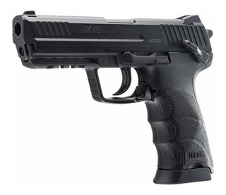 Pistola Hk45 Metalica / Airsoft 6 Mm / Co2 / Hiking Outdoor
