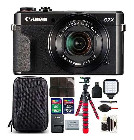 Camara Canon G7x Mark Ii Powershot 20.1mp Digital Black 5096