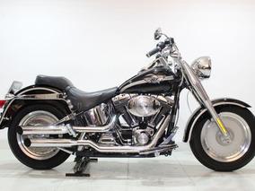 Harley Davidson Fat Boy Edição Especial 100 Anos 2003 Preta