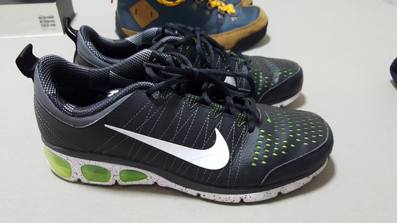 Tenis Nike Air Preto Couro Tam 41 9.5usa