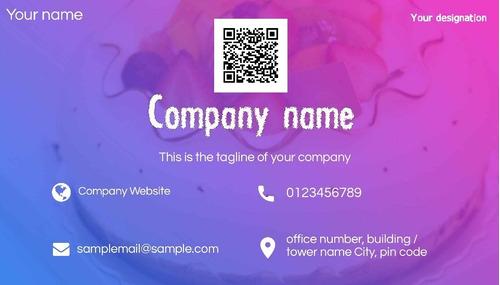 Cartão De Visita E Logotipo