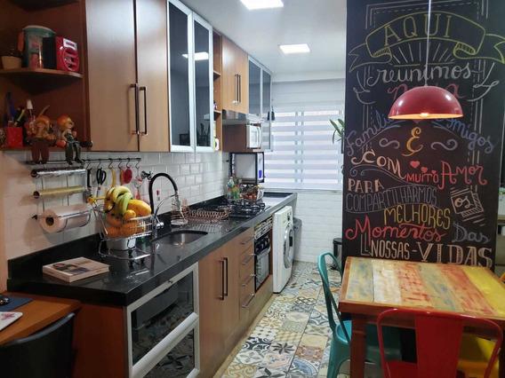 Apartamente 52m² Condimínio Ilhas Do Caribe - Carapicuiba